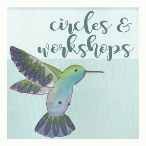 circles and workshops